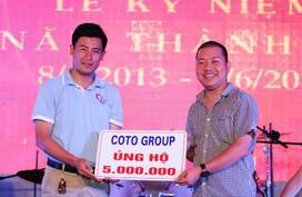 """Cô Tô Group ủng hộ chương trình """"Cùng ngư dân bám biển"""""""