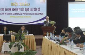 Dự kiến trình Quốc hội Luật Dân số vào năm 2014: Ghi nhận những đóng góp quan trọng của PLDS