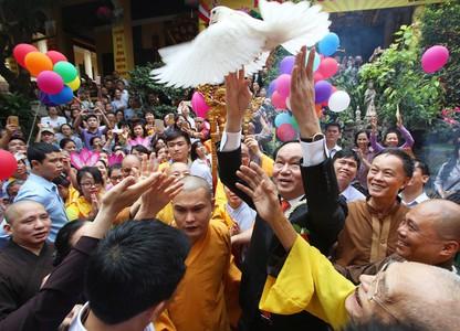 Những hình ảnh bình dị không thể quên của Chủ tịch nước Trần Đại Quang