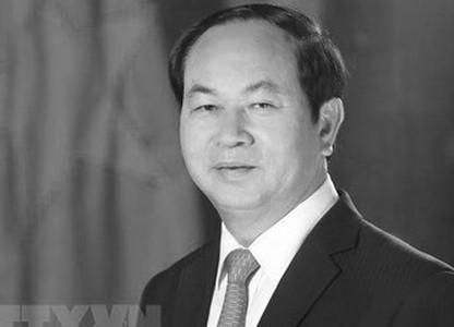 Quốc tang Chủ tịch nước Trần Đại Quang trong 2 ngày 26 và 27/9