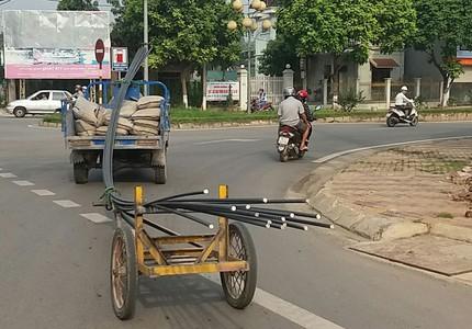 Hiến kế dẹp xe tự chế