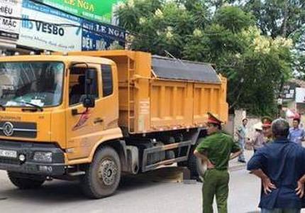 9X tử vong dưới gầm xe tải