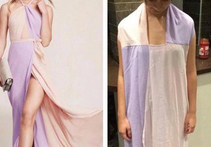 """Mua chiếc váy gợi cảm để đi tiệc, cô gái nhận được sản phẩm đúng chuẩn """"cái bao tải"""""""