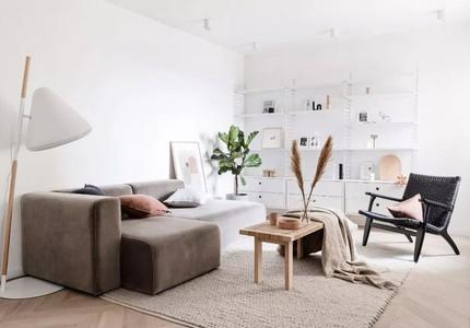 Căn hộ 55m² sắp xếp vô cùng hợp lý, thêm khu vực lưu trữ thông minh để biến thành không gian đẹp như mơ
