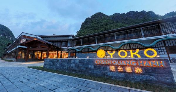 Khu nghỉ dưỡng suối khoáng đẳng cấp Yoko Onsen chính thức khai trương