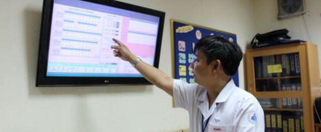 Bệnh viện Nhi Đồng 1 ứng dụng công nghệ thông tin trong hoạt động khám bệnh