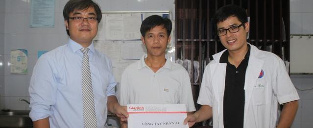 Vòng tay Nhân ái (MS 121): Hơn 10 triệu đồng đến với cậu bé tim bẩm sinh Vũ Tiến Đạt