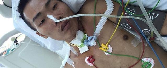 Chàng trai nghèo bị máy xúc cào nát vai được ghép da