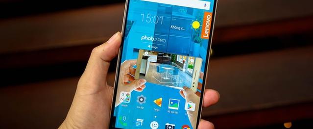 Smartphone đầu tiên màn hình 6,4 inch độ phân giải 2K pixel