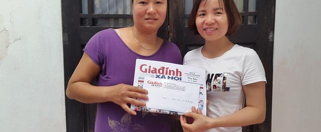 Hành trình nhân ái đến với 2 bé bị bại não ở Hưng Yên