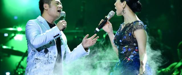 Bằng Kiều tái ngộ Minh Tuyết trong đêm nhạc dành cho tình nhân