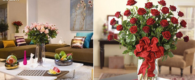 Hôn nhân bất hòa vì đặt sai bình hoa trong phòng khách