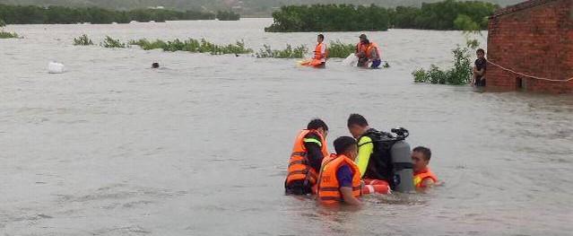 Thanh Hóa: Một người mất mạng vì đánh cá trong cơn bão