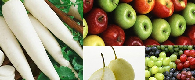 Tuyệt đối không ăn củ cải với những thực phẩm này để tránh rước họa vào người