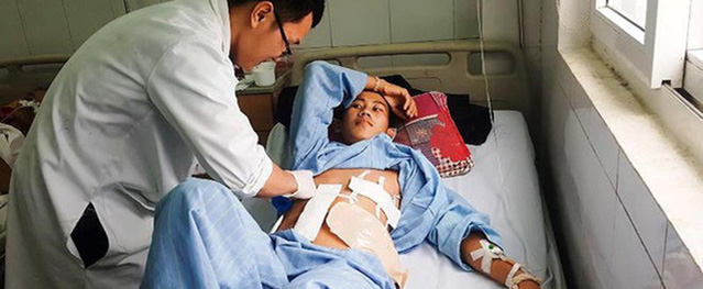 Cứu sống thanh niên 9X bị 9 viên đạn găm vào người