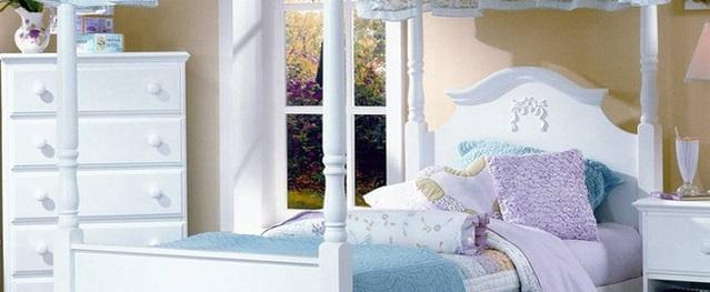 15 mẫu phòng ngủ bé gái đẹp như cổ tích