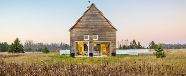 Ngôi nhà cấp 4 giữa cánh đồng quê ai vào một lần cũng ao ước có được