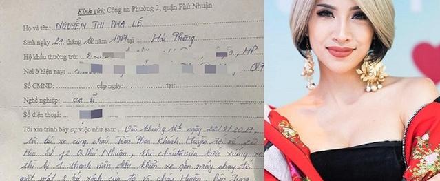 Pha Lê bàng hoàng khi bị cướp túi xách, mất 60 triệu và toàn bộ giấy tờ tùy thân