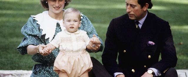 Công nương Diana quăng mình xuống cầu thang khi mang bầu William