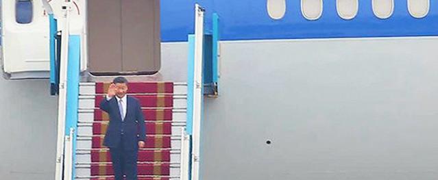 Chủ tịch Trung Quốc Tập Cận Bình đã đến Hà Nội