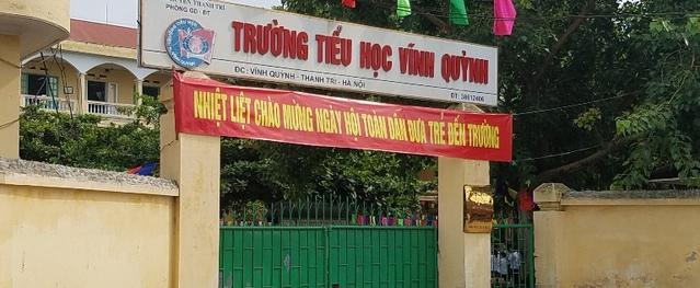 """Thanh Trì – Hà Nội: Hiệu trưởng trường tiểu học Vĩnh Quỳnh bị """"tố"""" không đứng lớp nhưng vẫn hưởng phụ cấp"""