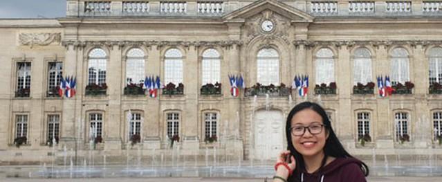 Nữ sinh Việt có bài báo đăng tạp chí uy tín quốc tế