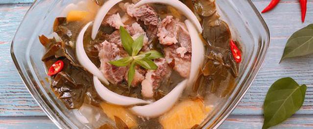 Canh lá giang thịt bò ngon ngọt, ăn không bị ngán