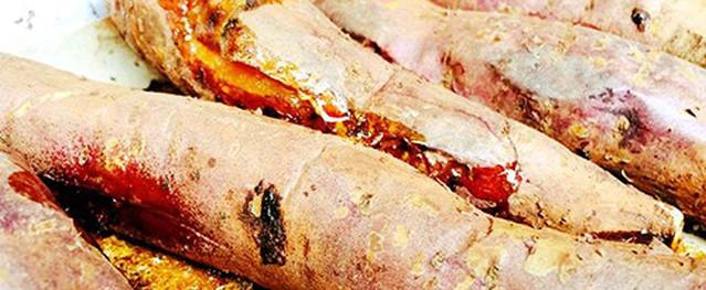 Khoai nướng đắt khách ngày Hà Nội rét