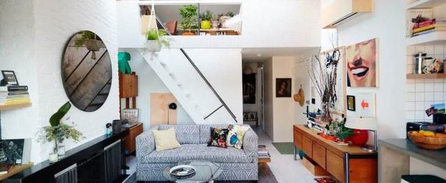 Diện tích nhà sẽ chẳng còn quan trọng khi bạn được sống trong một căn hộ xinh đẹp và hài hòa thế này