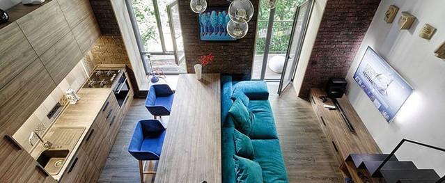 Căn hộ 35 m2 tiện nghi như nhà rộng