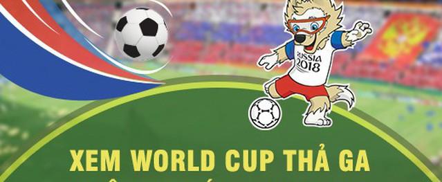 Gói cước VTVGo xem World Cup bản quyền của MobiFone được đón nhận nồng nhiệt