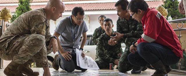 Mỹ điều 43 nhân viên quân sự tham gia cứu thiếu niên Thái Lan mắc kẹt
