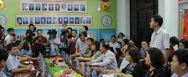 8 thí sinh ở Lạng Sơn bị giảm điểm sau khi chấm thẩm định
