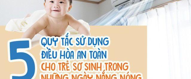Mẹ phải biết: 5 quy tắc dùng điều hòa để trẻ không bị ốm trong những ngày nắng nóng