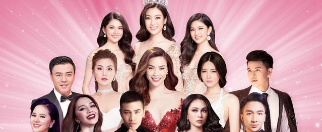 Cận cảnh chiếc vé VIP chứa màn hình led đêm chung kết Hoa hậu Việt Nam 2018