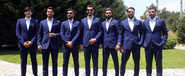 Dàn cầu thủ như siêu mẫu của đội tuyển Iran