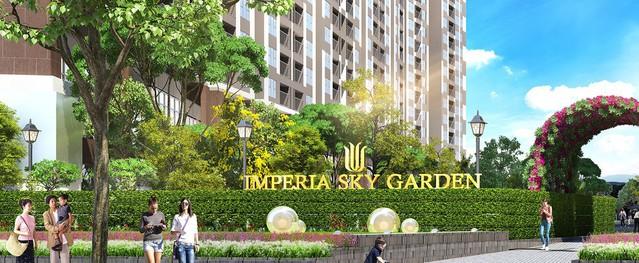 """Imperia Sky Garden """"gây sốc"""" với các chương trình ưu đãi cuối năm"""