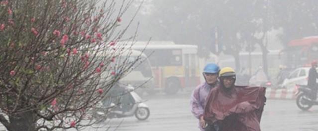 Thời tiết 3 ngày tới: Hà Nội chìm trong mưa rét