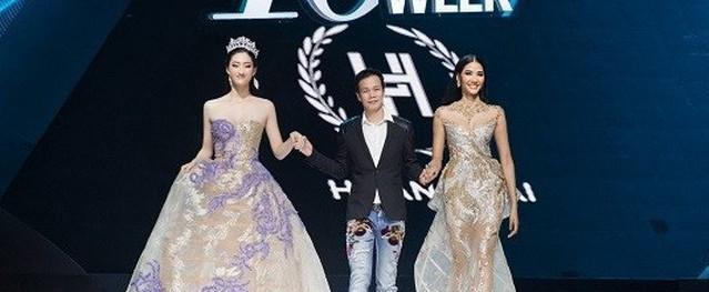 Dàn người đẹp nổi tiếng mở màn tuần lễ thời trang ở Hà Nội