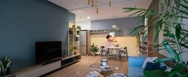 """Căn hộ thiết kế đầy ngẫu hứng nhưng rất """"xanh"""" của cặp vợ chồng trẻ ở Sài Gòn"""