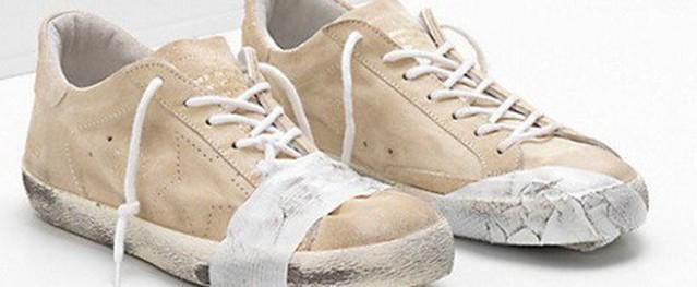 """Giày xấu, giày bẩn, giày rách có giá không hề rẻ nhưng lại đang là """"hot trend"""" gây bão mạng"""