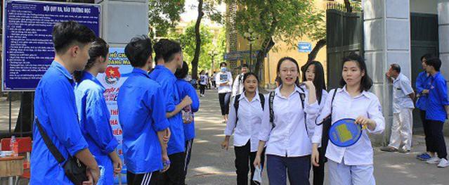 Thí sinh cao điểm nhất Hà Nội đạt 29,05 điểm khối B