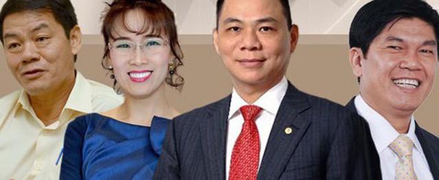 Danh sách 7 ông lớn tỷ USD Việt Nam top dẫn đầu Châu Á - Thái Bình Dương