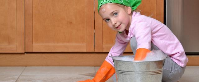 Sáu nhầm tưởng về giao việc nhà cho trẻ