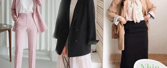 Có một kiểu áo giúp giấu gọn eo kém thon, lại thanh lịch tuyệt đối cho nàng diện đi làm
