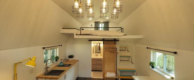 Biến nhà kho cũ thành căn nhà ấm cúng 22 m2