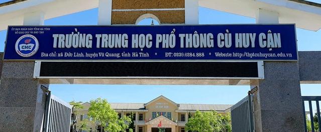 Thí sinh ở Hà Tĩnh tăng 22,5 điểm sau khi phúc khảo