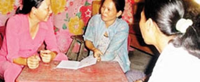"""Chị Hương """"hai giỏi"""""""