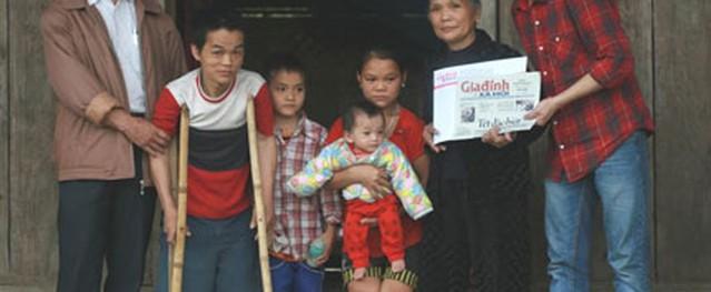 Gần 18 triệu đến với bé trai 9 tháng tuổi đói nghèo chỉ còn da bọc xương