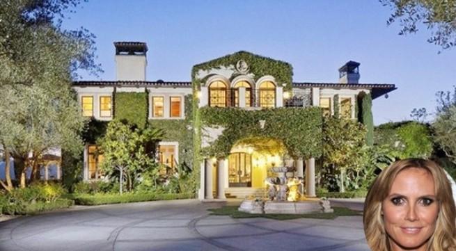 Bên trong cung điện 500 tỷ đồng của siêu mẫu Heidi Klum